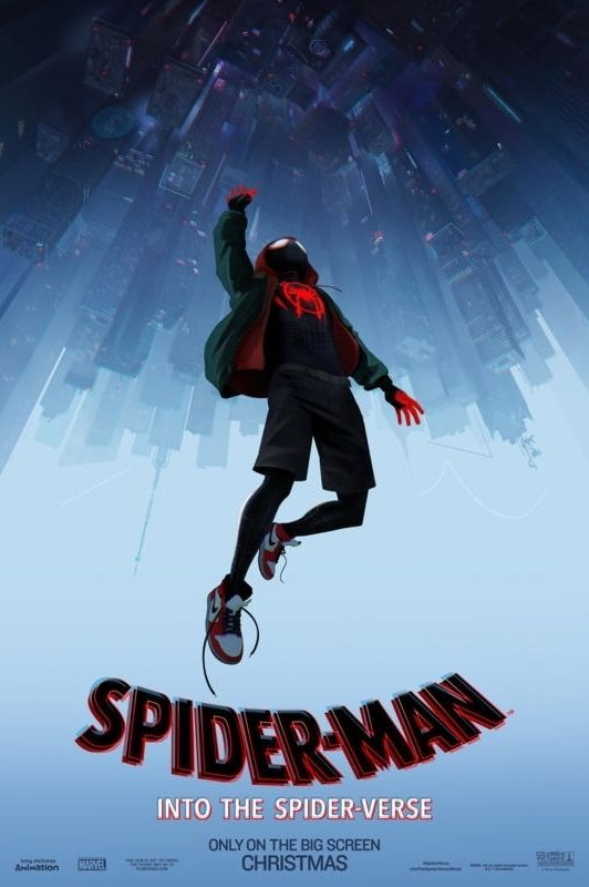 spider-man: into the spider-verse - christmas movies 2018