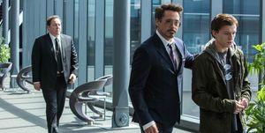Spider Man Iron Man Tony Stark araña