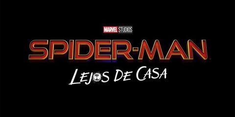 Logo Oficial en España de'Spider-Man: Lejos de Casa'