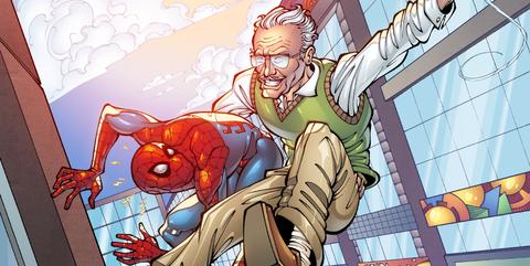 spider-man lejos de casa cameo stan lee