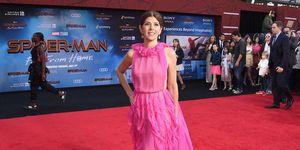 Spider-Man Lejos de Casa escena eliminada Marisa Tomei tía May