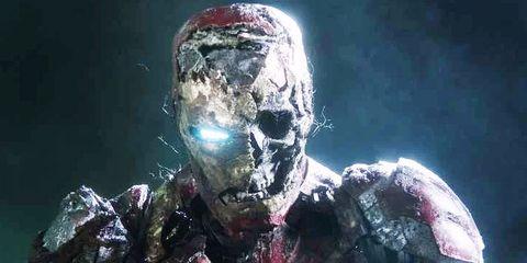 Spider-Man Lejos de Casa Iron Man zombie
