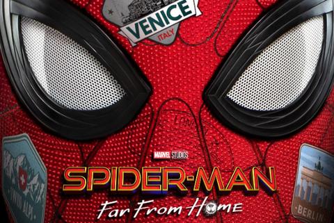 spider-man lejos de casa trailer poster