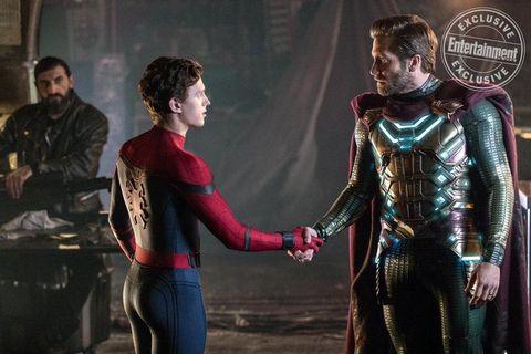Spider-Man lejos de casa Mysterio