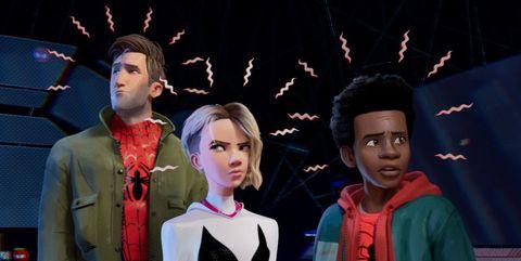 spider-man nuevo universo easter eggs