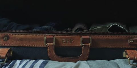 Bag, Leather, Brown, Tan, Baggage, Fashion accessory, Hand luggage, Strap, Handbag, Briefcase,