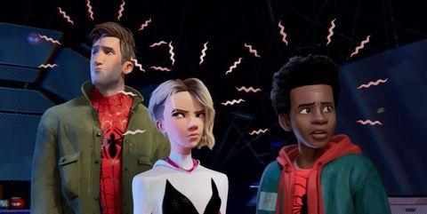 spider-man un nuevo universo serie