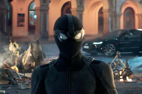 Spiderman Far From Home trailer featuring the Stealth Suit
