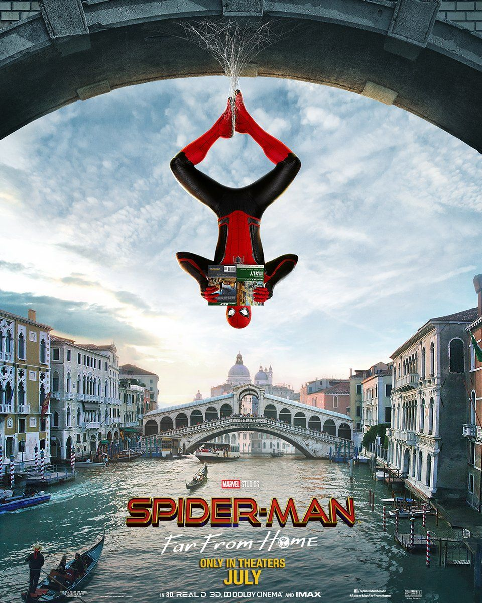 Image result for spider man lejos de casa poster
