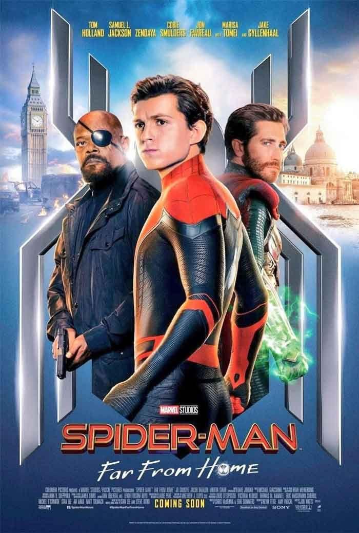'Spider-Man: lejos de casa' y sus personajes - Spiderman