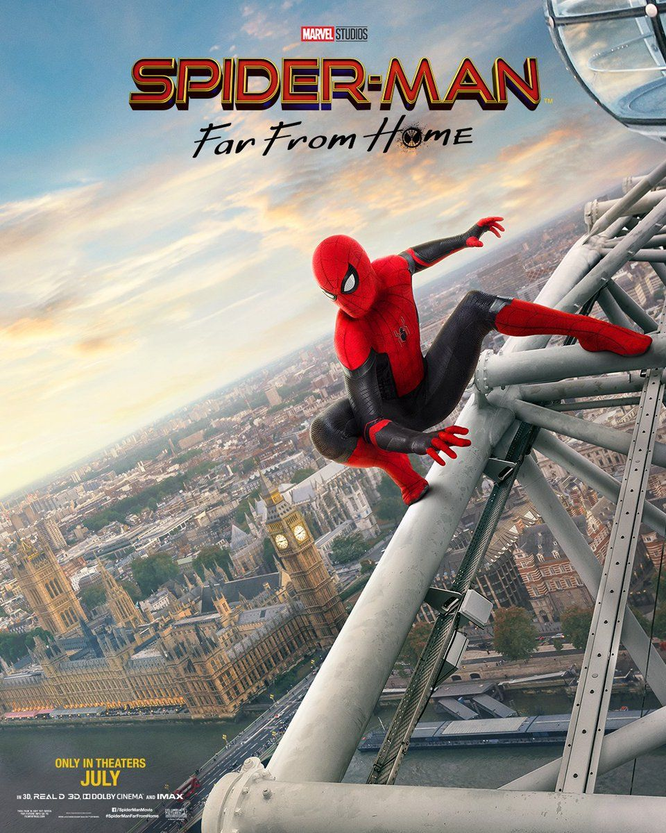 Spider Man Lejos De Casa Más Acción Que Nunca Marvel