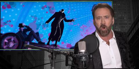 Spider-Man Noir Nicolas Cage