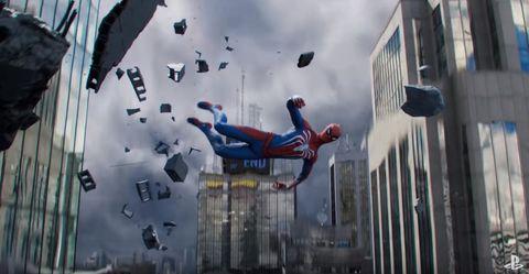 Spiderman Playstation game
