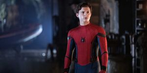 "Tom Holland en ""Spider-Man: Lejos de casa"""