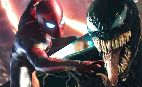 Spiderman, Venom,