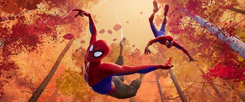 Spider-man, Superhero, Fictional character, Illustration, Cg artwork, Performance, Fiction, Art,