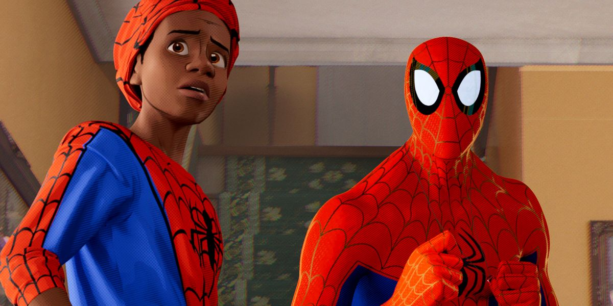 Spider Man Into The Spider Verse Review Spider Man Into