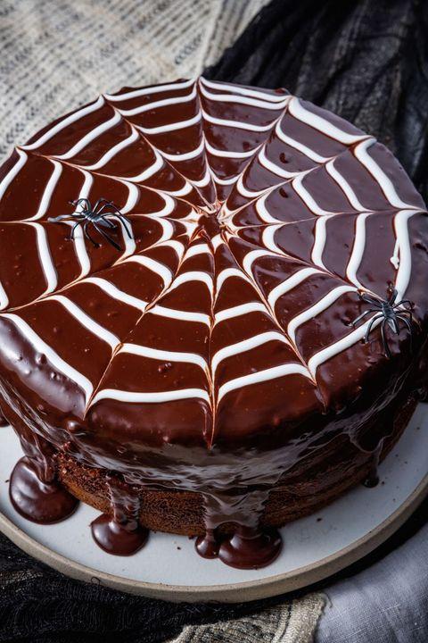food, chocolate cake, cake, dessert, dish, ganache, chocolate, cuisine, baked goods, torte,