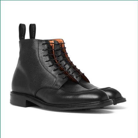 Leren-boots