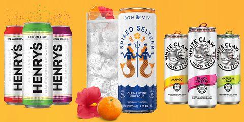 Tangerine, Grapefruit, Aluminum can, Citrus, Mandarin orange, Orange, Ingredient, Fruit, Tangelo, Drinkware,