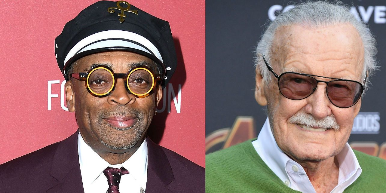 Spike Lee and Stan Lee