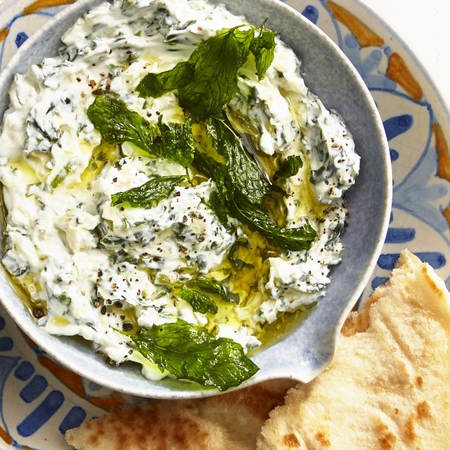 spinach and yogurt dip recipe healthy