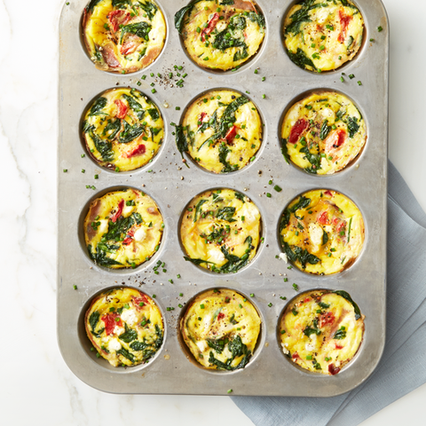 spinach and cheese egg muffins recipe