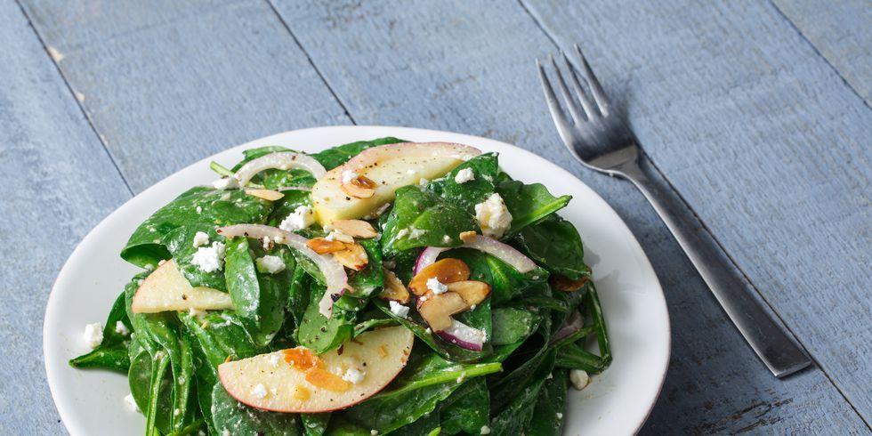 How do u make spinach salad