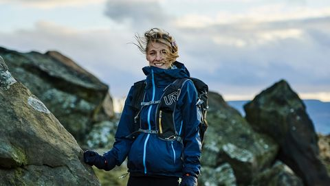 This woman ran the spine race in memory of her partner