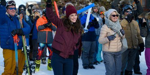 Snow, People, Winter, Footwear, Fun, Community, Recreation, Tree, Event, Outerwear,