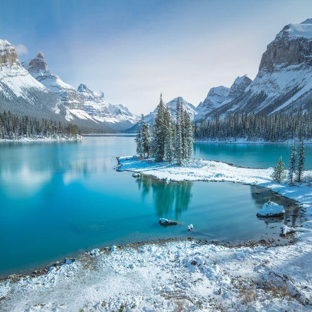 Spirit Island, Jasper , AB, Canada