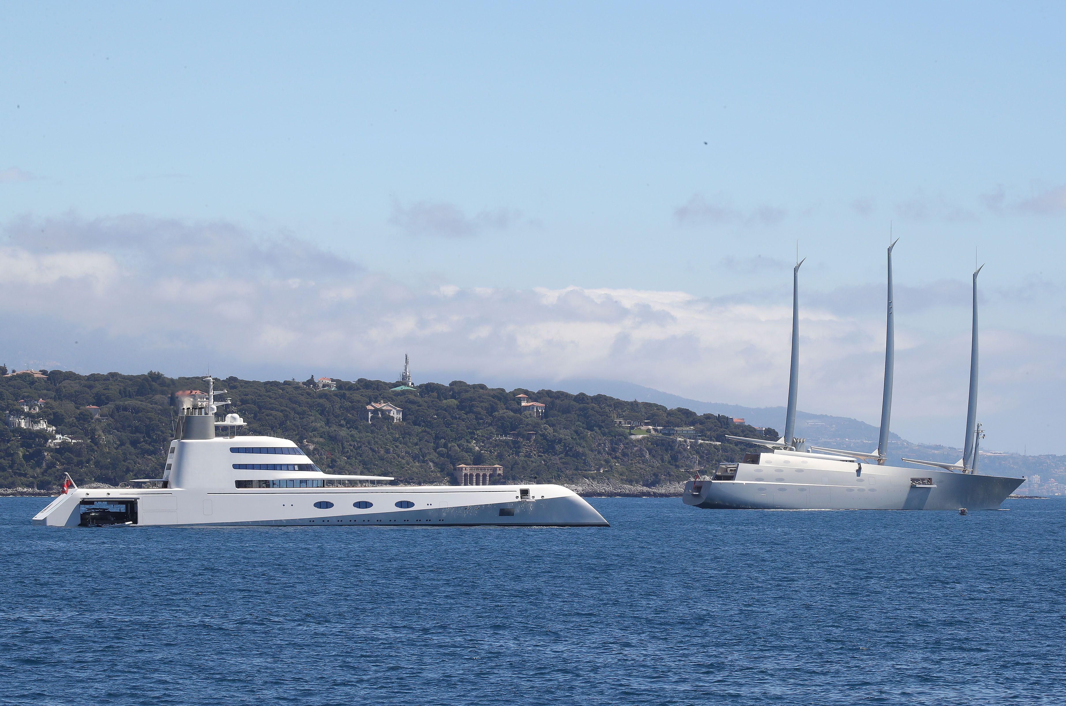 World S Largest Sailing Yacht Andrey Melnichenko Yacht