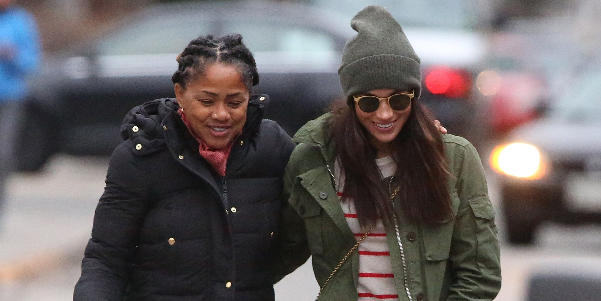 meghan markle and her mom