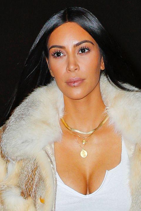 kim kardashian lip piercing