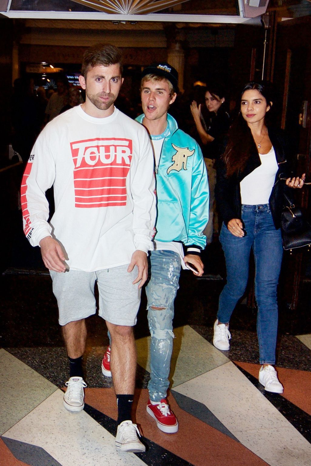Who has justin bieber dated in Melbourne