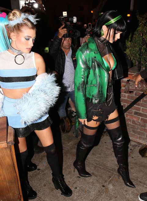 Wtf, Kendall Jenner Somehow Made Her Powerpuff Costume -6306