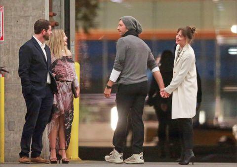 Dakota Johnson and Chris Martin at Same Party as Jennifer ...