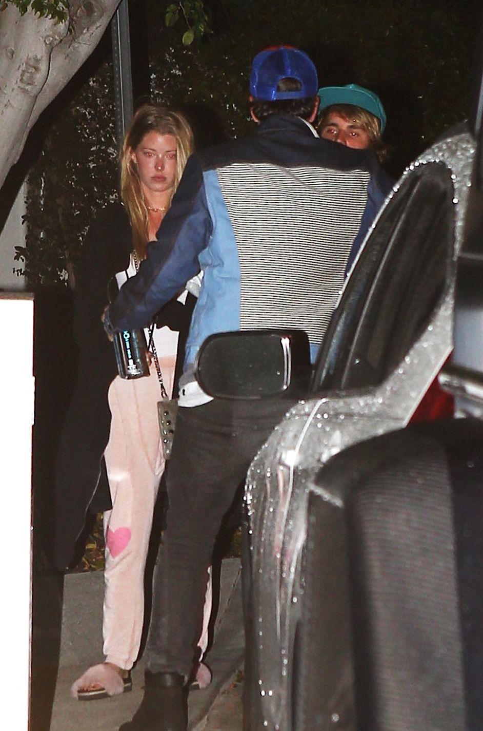 Justin Bieber dan Baskin Champion mulai dikabarkan berpacaran sejak mereka kepergok nonton konser Craig David beberapa bulan yang lalu (dok. Elle)
