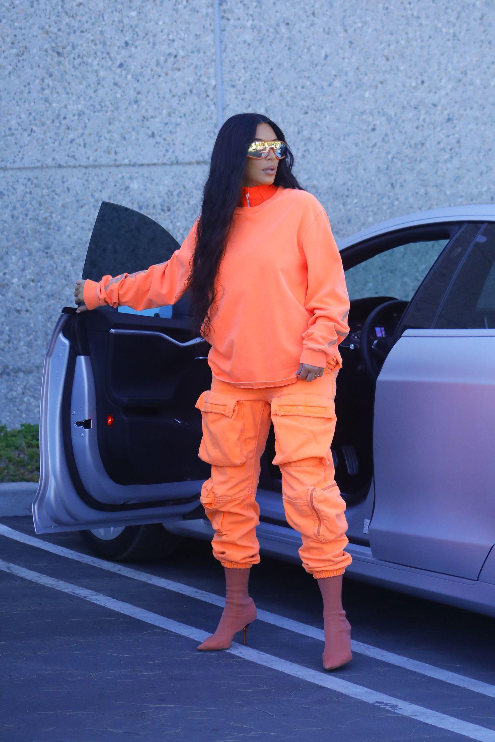 kim kardashian yeezy season 8