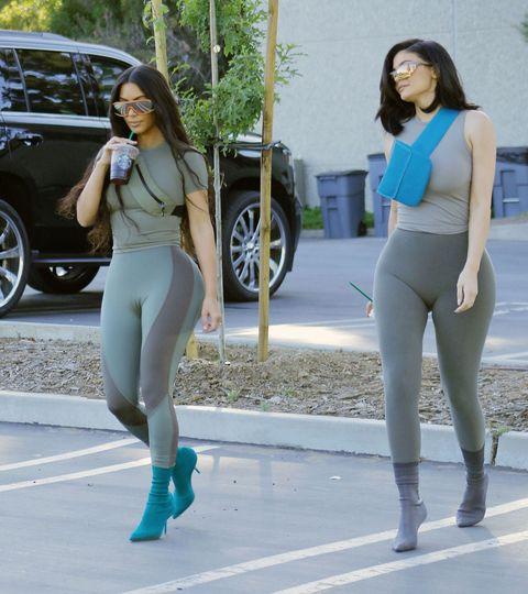 f187878946fa3 Kim Kardashian West is Modeling Yeezy on the Street Again