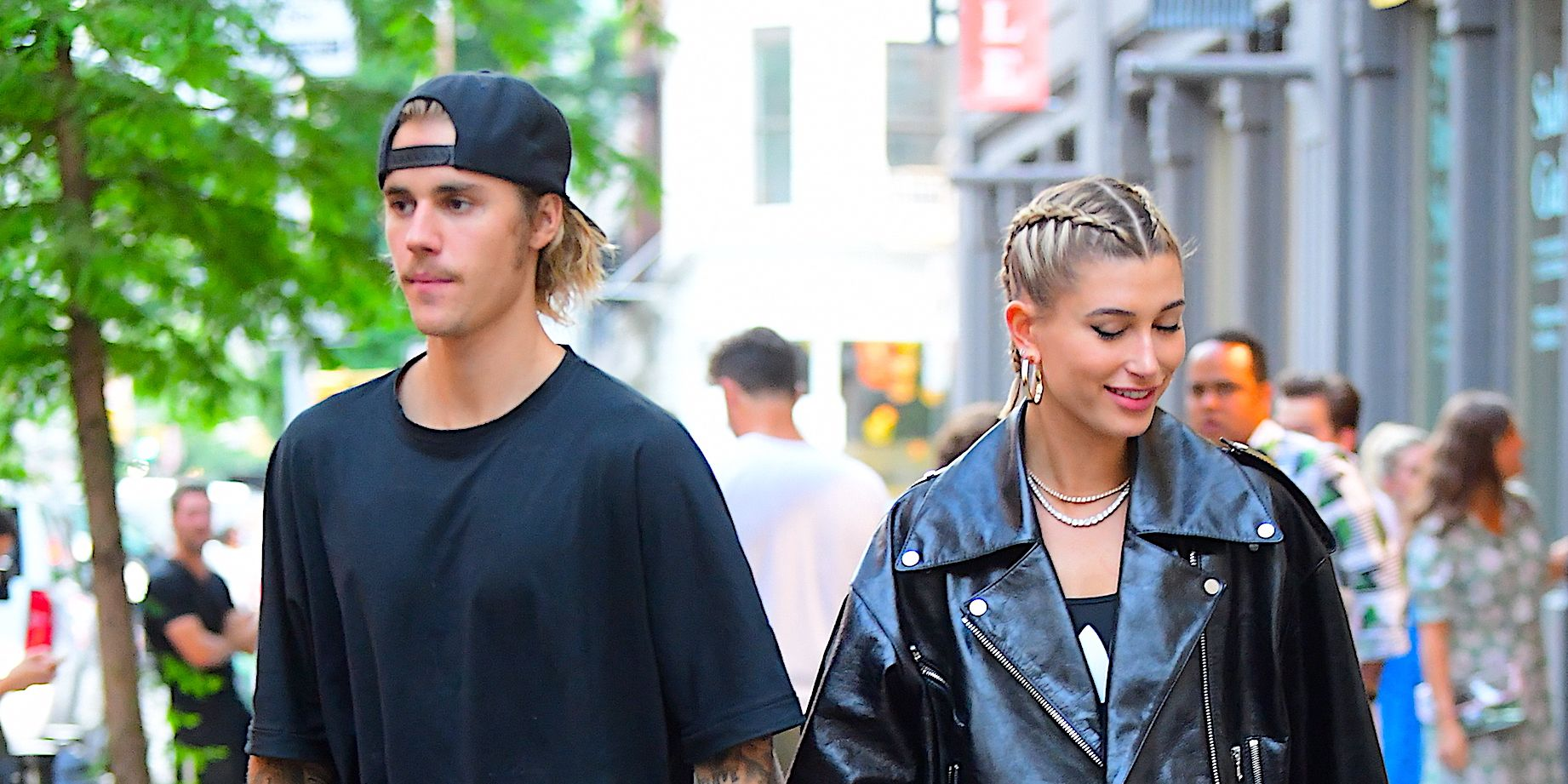 Justin Bieber and wife