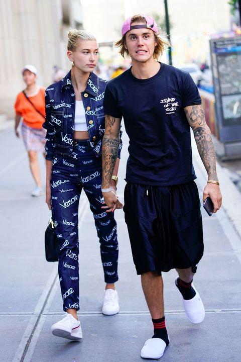 Fashion, Street fashion, Clothing, Sportswear, Footwear, Fashion design, Fashion show, Electric blue, Shoe, Style,