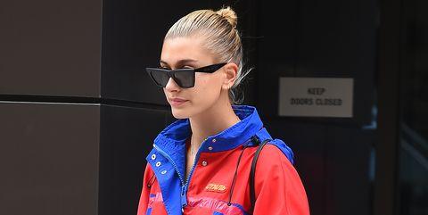 Clothing, Electric blue, Blue, Cobalt blue, Outerwear, Fashion, Fashion design, Uniform, Sports uniform, Jacket,