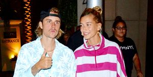 Justin Bieber And Haley Baldwin Go To Dinner After Church In Los Angeles