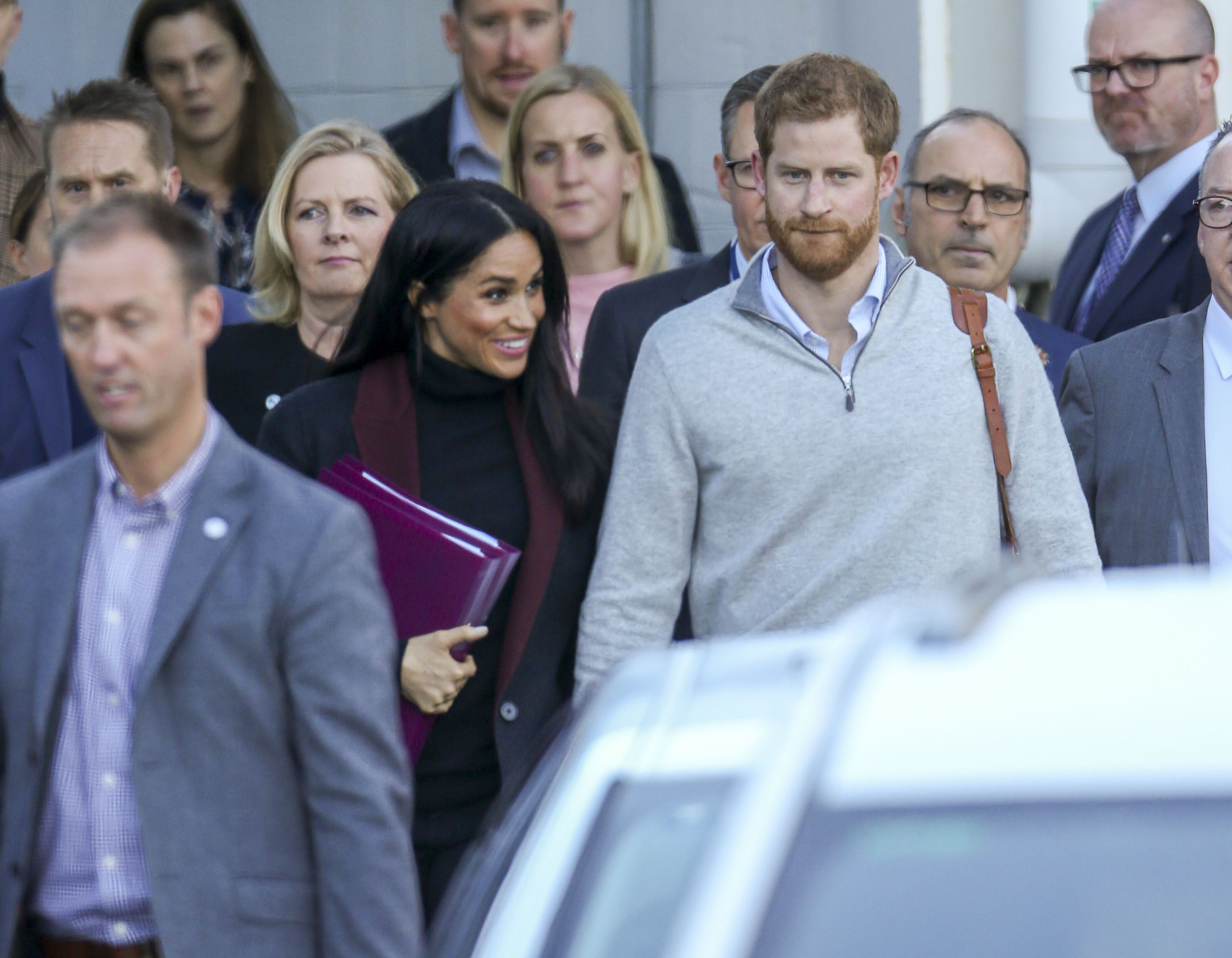 Meghan and Harry's baby will be her first grandchild.