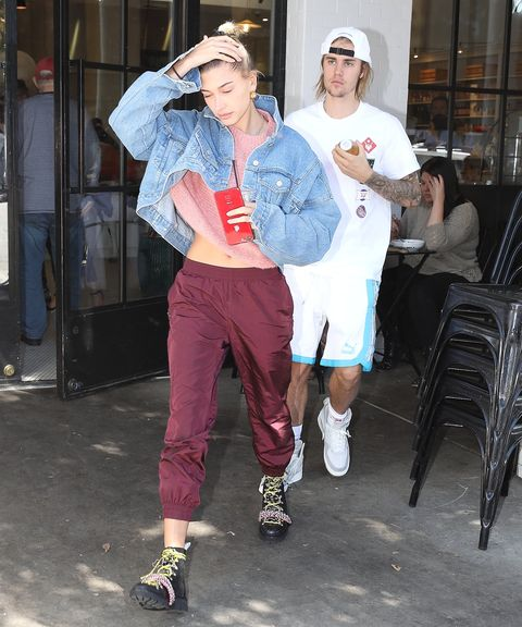 056c7826954a Justin Bieber and Hailey Baldwin Made Out During Breakfast Date at ...