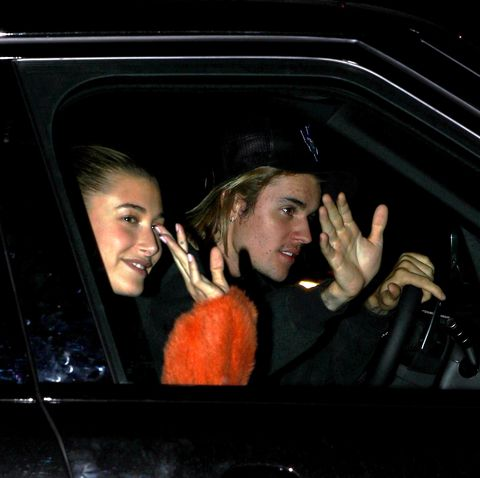 Justin Bieber and Hailey Baldwin leave Hill Song Church in Los Angeles, CA