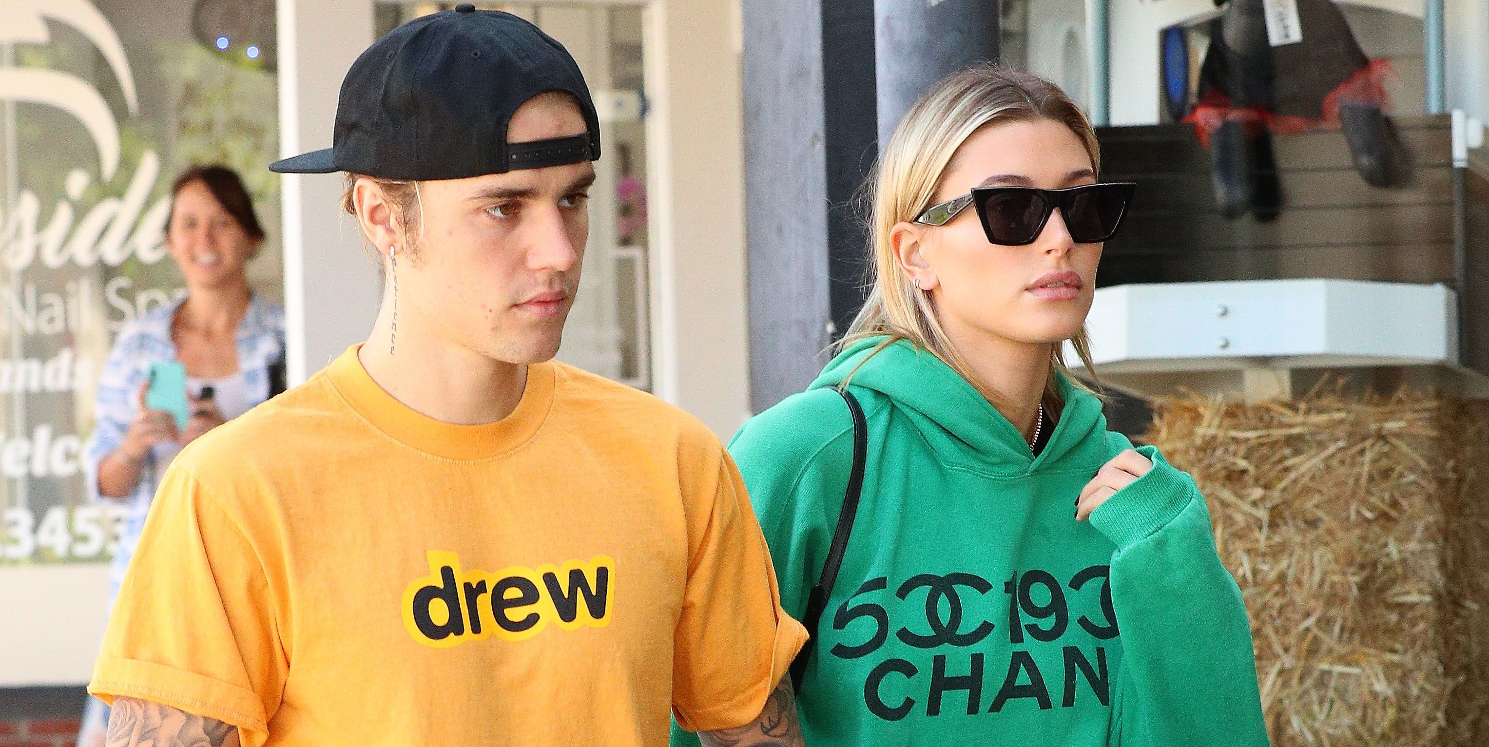 Justin Bieber and Hailey Baldwin Were the World's Comfiest Rich People on Their Date