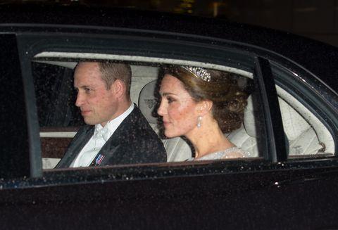 Vehicle, Car, Luxury vehicle, Vehicle door, Automotive window part, Wedding, Ceremony, Official,
