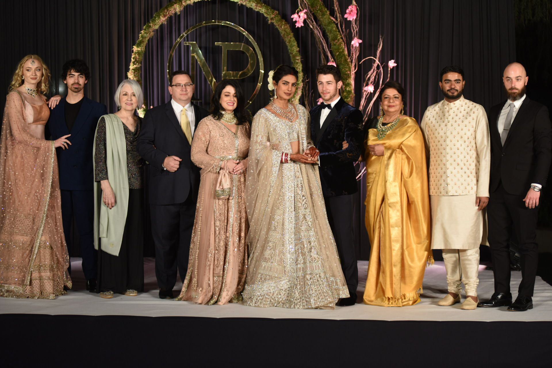 Priyanka Chopra Shares Her and Nick Jonas's Family Wedding Portraits